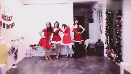 歌舞庆圣诞舞蹈视频,小姐姐教你跳舞,迎圣诞