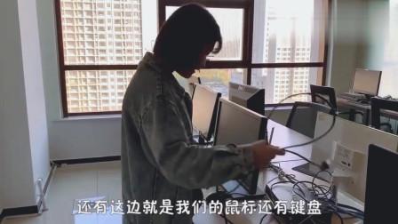 小姐姐拆电脑装电脑都非常拿手,女汉子撑起半边天