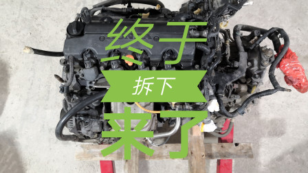 汽车拆发动机过程,原来这样拆也可以