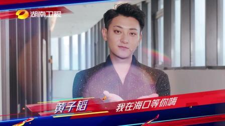 湖南卫视跨年:倒计时2天!黄子韬邀请你一起极致跨年嗨进2020