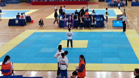 2019年广东省跆拳道联赛总决赛-儿童组男子绿蓝-蓝红-周子楠品势-6.93分