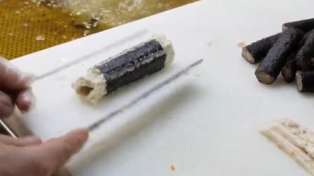 韩国大叔的鱼肉肠,海苔是主角!