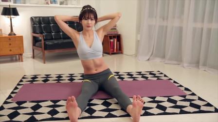 美女爆出不一样的瑜伽身材(7)