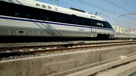 2020年元旦-银川高铁火车拍车记。