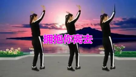 2019网络爆曲来袭!广场舞《拥抱你离去 (广场舞版)》分解,热热闹闹又一年