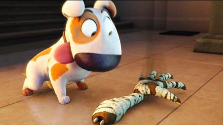 动漫:狗狗饿了把埃及女王的断手当成了骨头,刚要吃的时候却活了
