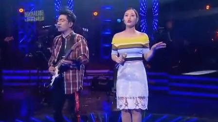 简直郎才女貌,金志文携手云朵现场演唱《远走高飞》,声音一出,完全被洗脑了