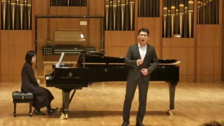 《嘉陵江上》 浙江音乐学院声歌系大三上期末考试  高男中音
