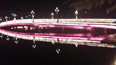 生活12-乳源城夜景 风景优美的乳源城市 依山傍水的乳源城 山清水秀