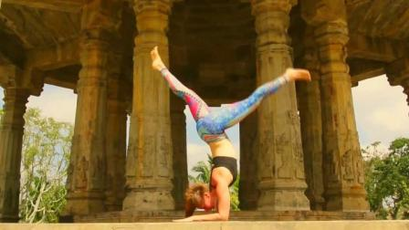 户外瑜伽,感受天人合一的美好!