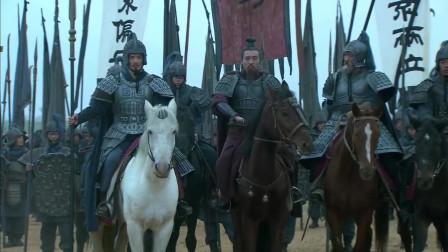 《三国》刘备生平最得意的一战,五界山布阵大战曹操,面对曹操四十万大军却一点都不虚