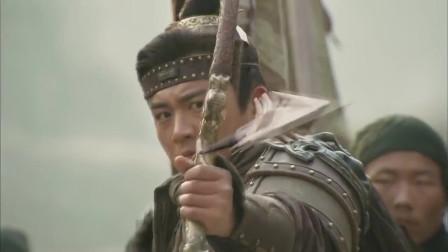 水浒传:小李广花荣两箭射落盔缨,吓坏敌将,调转马头大喊撤退!