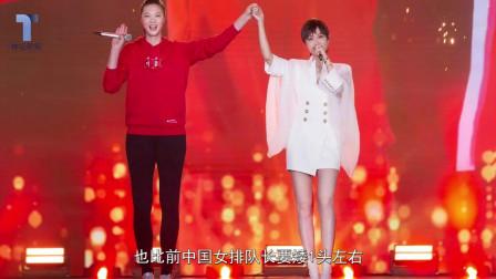 李宇春惠若琪亮相央视跨年盛典,满屏大长腿,太有女人味了