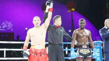 51岁少林武僧晚节不保,KO非洲拳王,赛后被揭露打假拳!