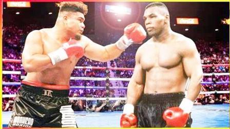 被称为泰森二世,打法凶狠心狠手辣,可以和泰森比重拳的男人!