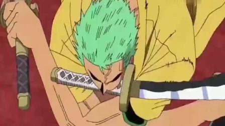 海贼王:索隆强大的气息让刀都变弯了,这么强的人为何不是船长