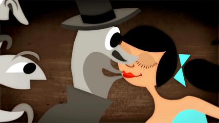 动漫:商贩为了抢生意不择手段,买香肠就送美女,男顾客都疯狂了