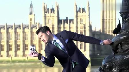 高以翔英国手表广告拍摄花絮 原来外国大片是这么拍的!