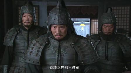 《三国》曹操得知刘备逃亡江夏,曹操怒了,扬言这次亲自带大军要抓刘备