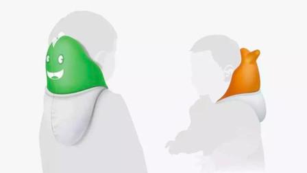 中国设计师发明自带安全气囊的帽衫,保护儿童头部,良心!