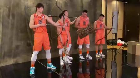 CBA全明星定妆照,这五个人可以代表中国男篮么?