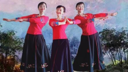 湖北静秋广场舞《快乐老家》