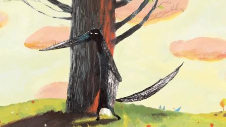 大狼与小狼的故事告诉我们:朋友间要相互体谅和分享