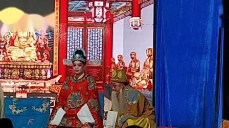 2020年 1月14号 汨罗满堂红花鼓戏剧团 在桃林七甲塘 演出庆祝戏一天熊向团老师 周春和老师 吴细红老师 节目忠昔状元