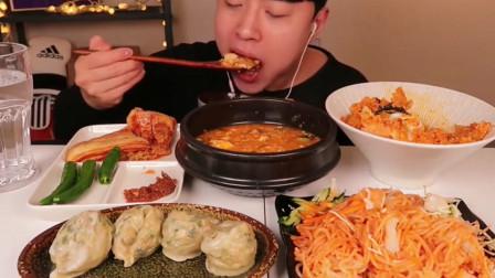 韩国小哥胃口太好了,把我看饿了