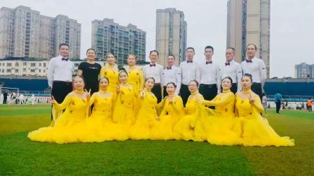荥经县体育舞蹈协会-华尔兹铜牌表演