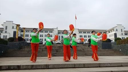 灯笼舞红红火火好运来舞蹈队表演