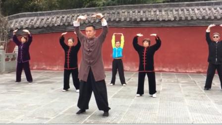 黄山老师演练的武当道家五行养生功法,堪比八段锦五禽戏易筋经!