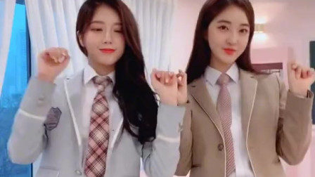 两个小姐姐一起跳闺蜜舞,你更喜欢哪一款?
