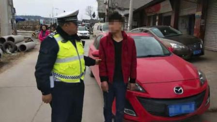 胆真大!男子毒驾过检查点,弃车逃跑了一公里,终被民警挡获