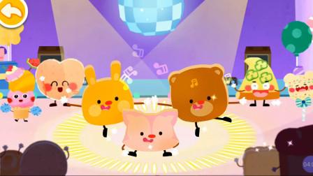 宝宝巴士009 美食派对 育儿早教 宝宝巴士动画 动漫 亲子益智游戏