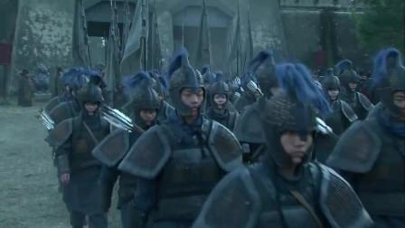 《三国》孙权听闻刘备出七十万大军来替关羽与张飞报仇, 孙权吓得连笔都拿不稳了