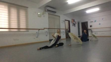 W舞蹈古典舞剧目《青蛇》班学员