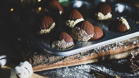 超详细步骤教你制作过年伴手礼-栗子巧克力夹心蛋糕