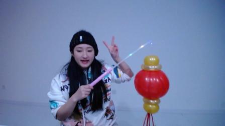 长条魔术气球街卖创意小造型气球编织入门基础简单教程教学