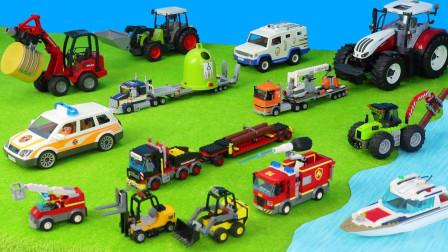 儿童水泥罐车和小火车玩具,很不错
