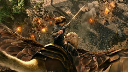 高燃科幻片《魔兽》人兽大战一触即发,强壮的异族入侵人类领地