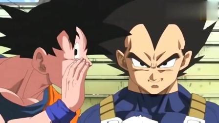 龙珠:悟空学坏了,看到贝吉塔老是一本正经,没事就逗他玩