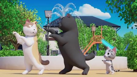 《甜甜私房猫》大黑好棒呀!
