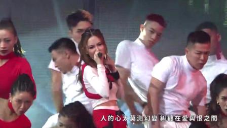 音乐风云榜天后邓紫棋连唱摩天动物园、句号等三首热歌火爆开场!