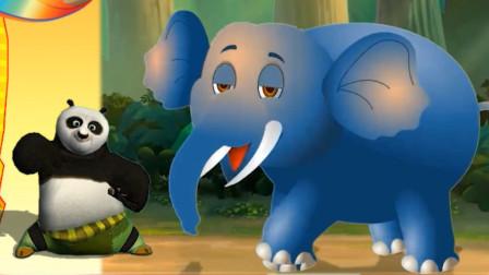 熊猫大侠和大象是好朋友?熊出没少儿益智游戏