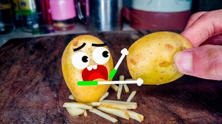 小土豆和橘子都会说话了,奇趣爆笑动画