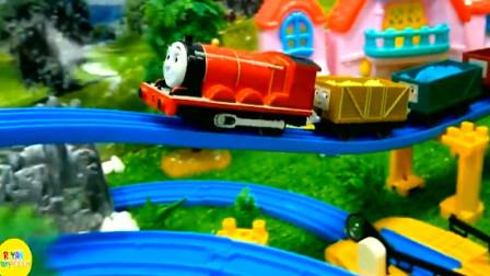 托马斯和朋友们运输各种货物 趣味益智