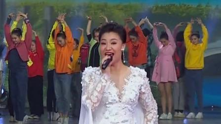 王丽达王传亮《高铁来了》,激昂赞歌致敬美丽新祖国 山东春晚 20200123