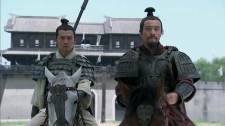《三国》曹操率大军来袭,刘备只带赵云一人与曹操对阵