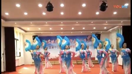 胶东秧歌《青蓝蓝的河》
